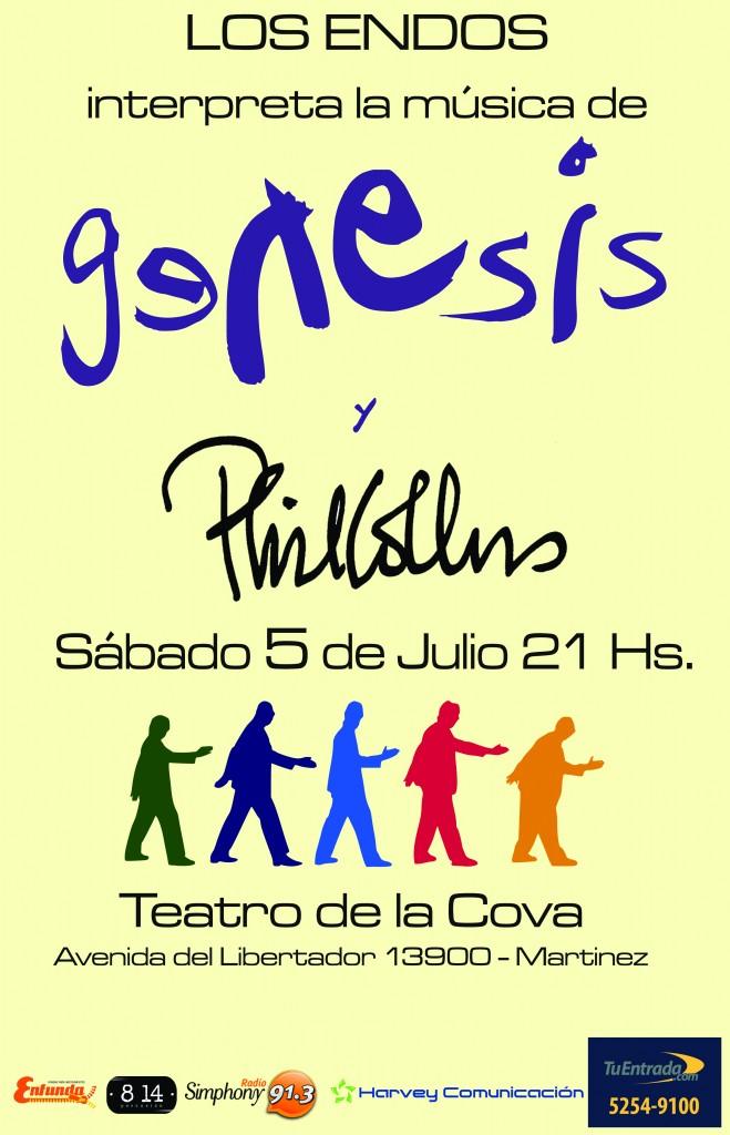 poster final los endos 5 de julio