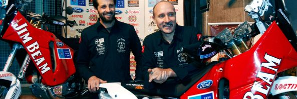 """Jim Beam Turkish Team"" Carrera Dakar 2009"
