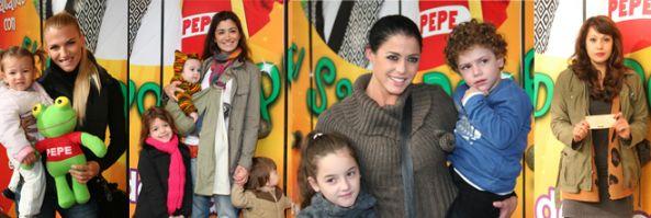 """Mamás famosas presentes en la función de Pipo Pescador: """"Saltando con el Sapo Pepe"""""""