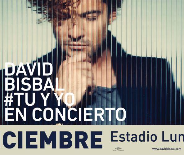 David Bisbal 8 de diciembre – Teatro Luna Park