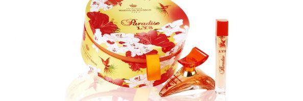 Paradise Lys, la nueva fragancia de Marina de Bourbon