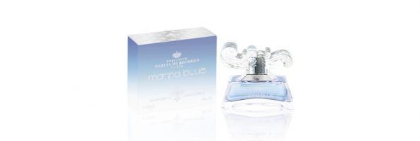 Para el dia de la mujer, Marina de Boubon presenta la nueva fragancia  « MARINA BLUE »