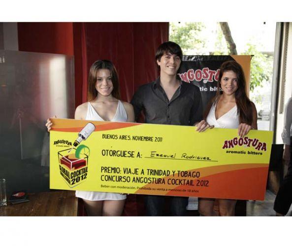 Angostura presenta al ganador argentino del Concurso Cocktail 2012