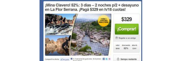 clickOn, uno de los sitios más elegidos por los argentinos para disfrutar de sus vacaciones