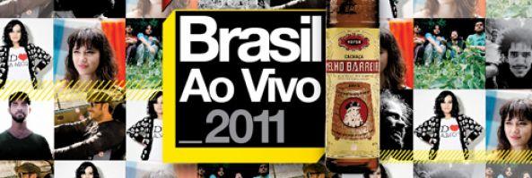 La Cachaça Velho Barreiro y Niceto Club, presentan Brasil Ao Vivo 2011