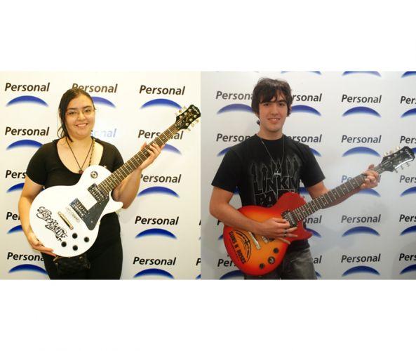 Personal entrega premios a ganadores de la promocion Personal Rock Festival