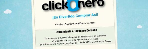 Lanzamiento ClickOnero Córdoba
