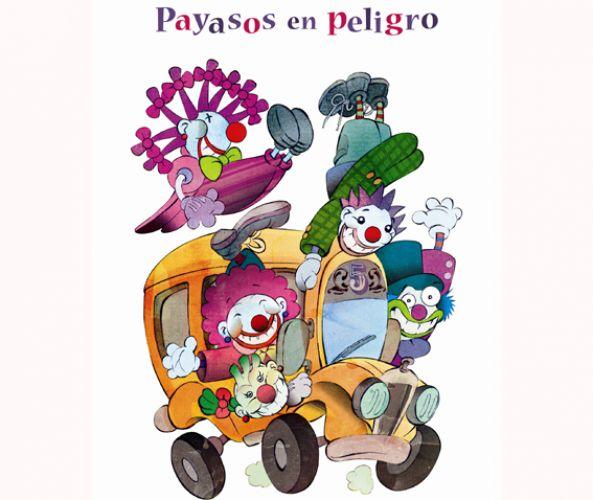 """FUNDACIÓN MAPFRE presenta la obra teatral infantil """"Payasos en Peligro""""."""