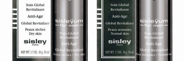 Sisley presenta su primera línea antiedad para hombres.